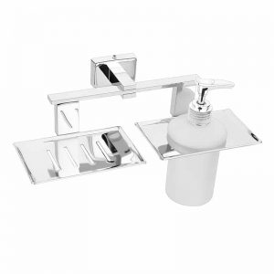 Soap Dish with Liquid Dispensers