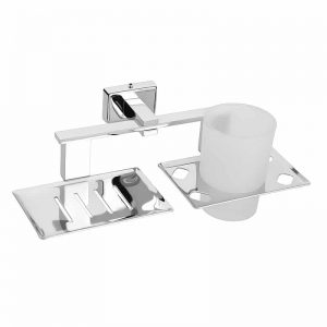 Soap Dish with Tumbler Holders