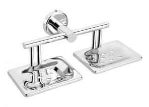 Stainless-Steel-AISI-304-Chrome-Plated-Double-Soap-Holder-Dish-Twin-Soap-Dish-Holder-SM-509