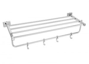 Stainless-Steel-AISI-304-Chrome-Plated-Towel-Rack-18-inch-24-inch-SI-606