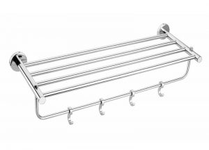 Stainless-Steel-AISI-304-Chrome-Plated-Towel-Rack-SD-306
