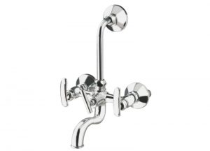 Brass-2-In-1-Wall-Mixer-With-Bend-KS-112